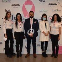 إليسا تشارك بحملة سوا منحارب سرطان الثدي
