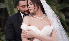 فستان زفاف هاجر أحمد يعرضها للإنتقادات لهذا السبب