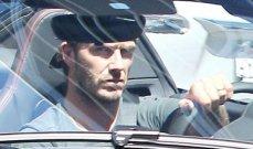 ديفيد بيكهام يقود سيارة في بيفرلي هيلز ثمنها 319 ألف دولار
