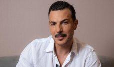 باسل خياط مع زوجته بهذا الشكل