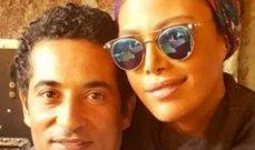 """ريهام حجاج مع عمرو سعد في كواليس """"وضع أمني"""".. بالصورة"""