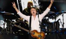 """بول مكارتني يغني """"The Beatles"""" أمام 75 ألف شخص بمهرجان """"Desert Trip"""""""