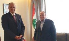 """الوزير جورج بوشكيان يشيد بالمنتج صادق الصباح :""""أعماله الابداعية تعطي قيمة مضافة للفن اللبناني"""""""
