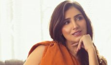 مي عمر توجه رسالة تهنئة للسعودية بيومها الوطني