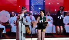 """عبادي الجوهر وهدى الفهد يتألقان بحفلة """"اليوم الوطني السعودي"""""""