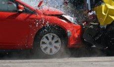 بالصورة- إعلامي شهير وزوجته الإعلامية يتعرضان لحادث سير وينجوان من الموت بأعجوبة