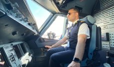 كابتن أحمد مزهر يشجع على السياحة الجوية في لبنان بهذه الطريقة
