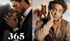 """روبرت داوني جونيور وميشيل موروني يتنافسان على جائزة أسوأ """"ممثل وفيلم"""""""