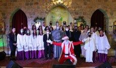 """خاص وبالصور- جوقة """"نسروتو"""" أبدعت في عيد الميلاد في كنيسة مار يوسف المخلصية في حوش الأمراء لتبقى """"زحلة ترنم"""""""