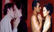 ممثلون مارسوا الجنس في الحقيقة في هذه الأفلام..أنجلينا جولي وأنطونيو بانديراس معاً وروبرت باتينسون مع رجل