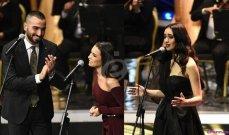 محمد الشرنوبي وفايا يونان وكارمن سليمان عن حفلهم بالموسيقى العربية: فخورون بالمشاركة