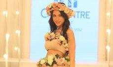 بيروت تستقبل مدونة الموضة العالمية ديان بيرنيه... والورود تزين أجمل التصاميم