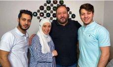 هكذا احتفل خالد مقداد وأولاده بعيد ميلاد مروة حماد