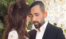 زوج درة التونسية ينشر صورة لهما تثير استغراب الجمهور والسبب؟