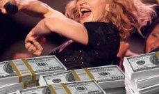 مادونا تتصدر قائمة المغنين الأكثر ثراء