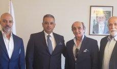 وزير الثقافة اللبناني محمد المرتضى يستقبل نقيب الممثلين.. وهذا مصير بناء بيت الراحة للفنانين