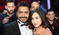فنانة مشهورة كانت السبب في طلب بسمة بوسيل الطلاق من تامر حسني..فهل هي زينة؟