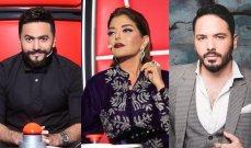 رامي عياش يتقدّم وصراع على المرتبة الأولى بين تامر حسني و سميرة سعيد