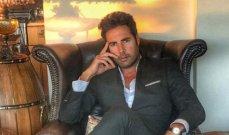 """خاص- وسام شمص: """"فوّتّ فرصة ذهبية بفيلم جورج كلوني.. ولهذا لم أقبل العمل مع مايا دياب"""