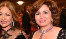 إلهام شاهين برسالة معايدة لـ ليلى علوي وهذا ما قالته عنها- بالصورة