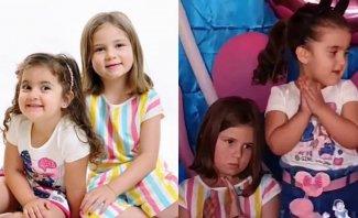 """بعد أن أثارتا الجدل بـ""""شد الشعر"""" العام الماضي.. ماذا حصل هذا العام في عيد ميلاد إحدى الطفلتين البرازيليتين؟"""