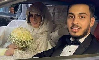 مشاهد حصرية تنشر لأول مرة من زفاف الوليد مقداد وزوجته نور- بالفيديو
