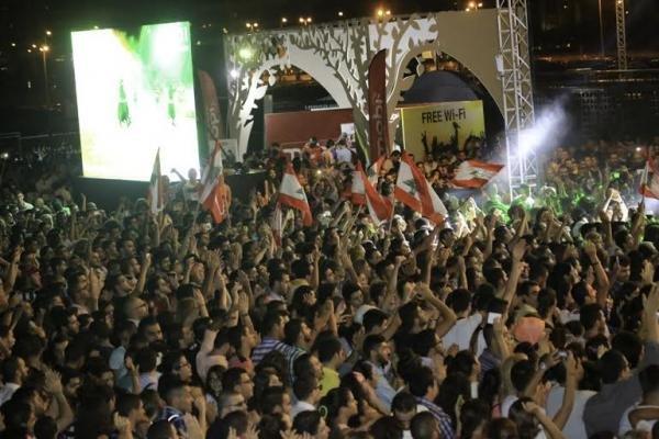 مهرجان الأغنية الشرقية..تفوق للفنانين العرب والجيش اللبناني ضيف الشرف الدائم