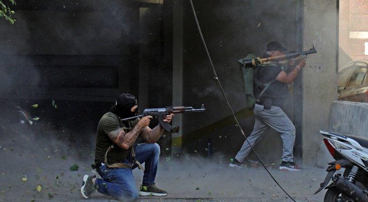 نجوى كرم وماغي بو غصن وزياد برجي ومايا دياب وغيرهم يرفعون الصوت بعد الاشتباكات في بيروت