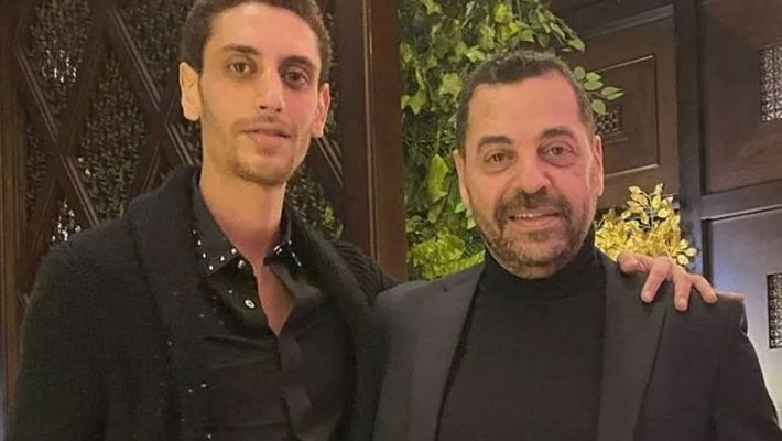 خاص الفن- عمر طارق العريان وخطيبته يغادران لبنان