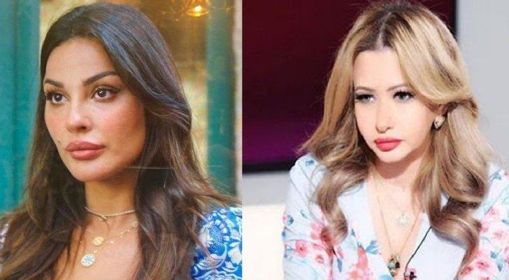 """نادين نسيب نجيم ترد على مي العيدان بخصوص دورها في """"صالون زهرة""""- بالصورة"""