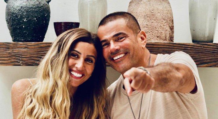 بعد إنفصالهما.. أول لقاء بين عمرو دياب ودينا الشربيني يُشكّل صدمة