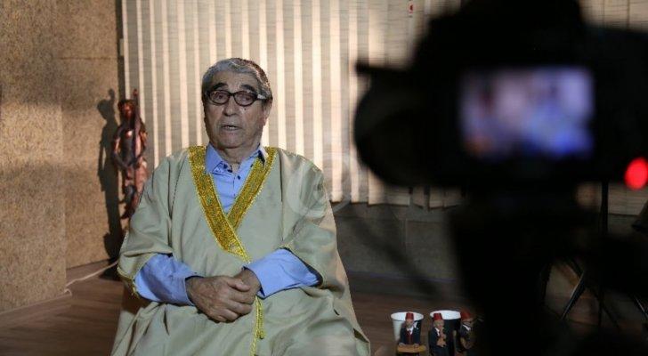 """خاص وبالفيديو- صلاح تيزاني """"أبو سليم"""" يتحدث عن الأشخاص الذين لم يبادلوه الوفاء وهذا ما قاله عن المال والسعادة"""