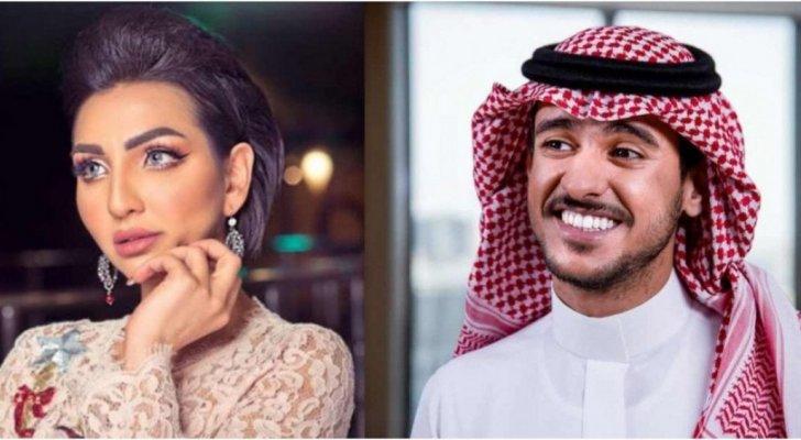 هبة الحسين تنشر صورة من زفافها على عايض يوسف في صيف جدة وتردد أغانيه