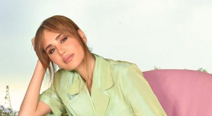 داليدا عياش تتألّق بهذه الإطلالة في حفل زفاف سابين.. بالصور