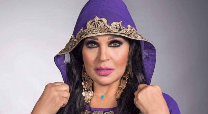 بالفيديو - فيفي عبده تتعرض لإنتقادات بسبب رقصها بالمنشفة