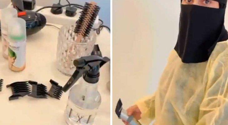 """بالفيديو- """"أول حلاقة سعودية"""" تتصدر الترند وإليكم هذه المعلومات عنها"""