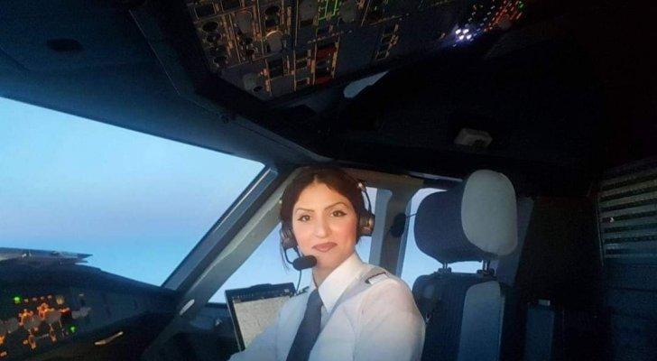 قائدة طيارة لبنانية تصل إلى مطار بيروت في أول رحلة للخطوط الألمانية