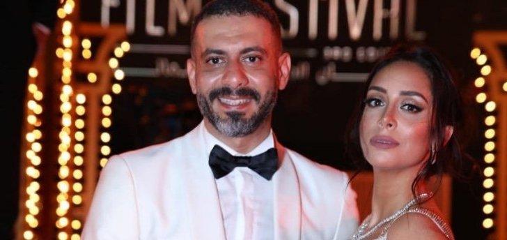 خلاف بين محمد فراج وبسنت شوقي على السجادة الحمراء في مهرجان الجونة